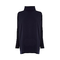 Warehouse - Rib Detail Roll Neck Top