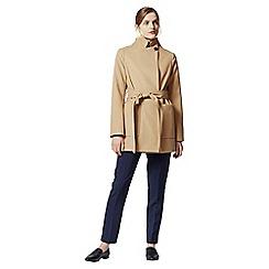 Warehouse - Short asymmetric coat
