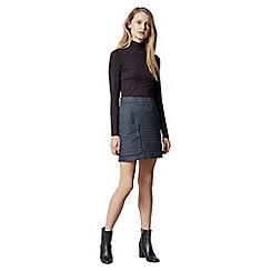 Warehouse - Lupita Tweed Pelmet Skirt