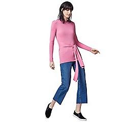 Warehouse - Tie waist jumper