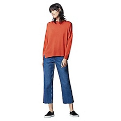 Warehouse - Displaced Boxy Hem Jumper