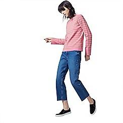 Warehouse - Stripe high neck jumper