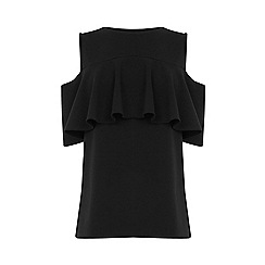 Warehouse - Crepe Frill Top
