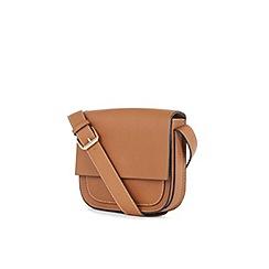 Warehouse - Daisy stitch saddle bag
