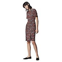 Warehouse - Tiger Moth V Back Dress
