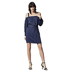 Warehouse - Strappy Bardot Dress