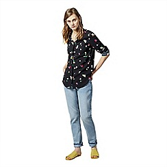 Warehouse - Woodstock floral shirt