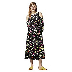 Warehouse - Woodstock floral midi dress