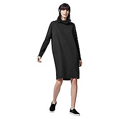 Warehouse - Rib Detail Roll Neck Dress