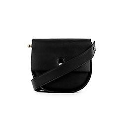 Warehouse - Keyhole saddle cross body bag
