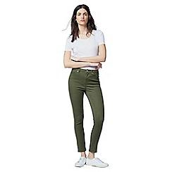 Warehouse - Crop skinny cut jeans