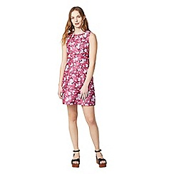 Warehouse - Aster floral jacquard dress