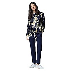 Warehouse - Wisteria floral shirt