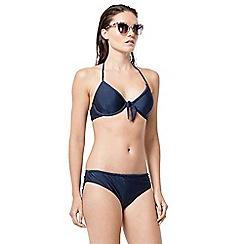 Warehouse - Plait detail bikini top