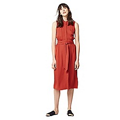Warehouse - Open back sleeveless dress