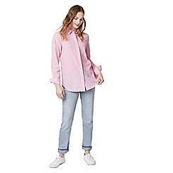 Warehouse - Casual seersucker stripe shirt