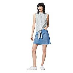 Warehouse - Casual sleeveless stripe shirt