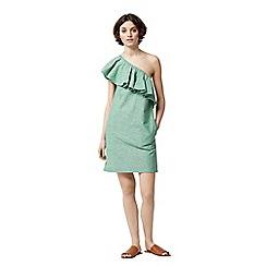 Warehouse - Ruffle one shoulder dress