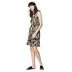 Warehouse - Tropical garden cami dress