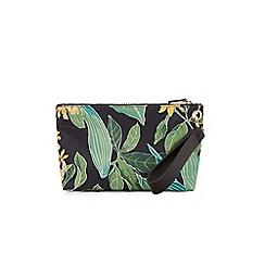 Warehouse - Tropical garden make up bag