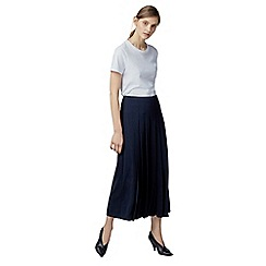 Warehouse - Pleated culottes