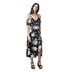 Warehouse - Magnolia wrap dress