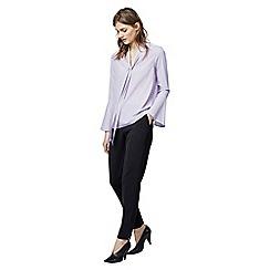 Warehouse - Tie neck blouse