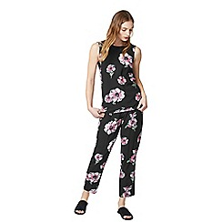 Warehouse - Ocean floral trousers