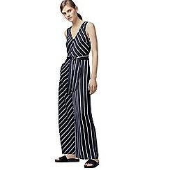 Warehouse - Stripe jumpsuit