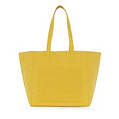 Warehouse - Embossed soft pocket tote