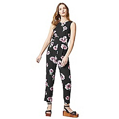 Warehouse - Ocean floral jumpsuit