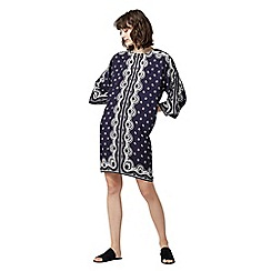 Warehouse - Bandana print tunic dress