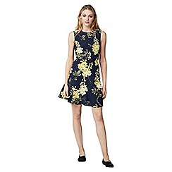 Warehouse - Wisteria print dress