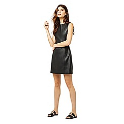 Warehouse - Faux leather dress