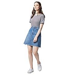 Warehouse - Casual stripe t-shirt
