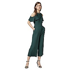 Warehouse - Crepe overlay jumpsuit