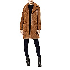 Warehouse - Teddy faux fur coat