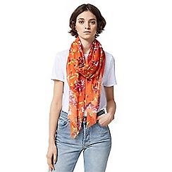 Warehouse - Climbing azalea scarf