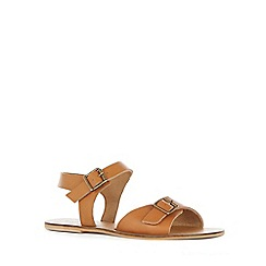 Warehouse - Double buckle sandals