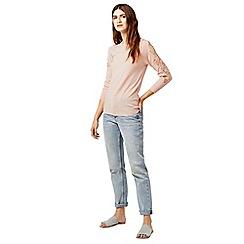 Warehouse - Lace insert jumper