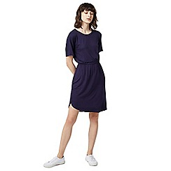 Warehouse - Gathered waist t-shirt dress