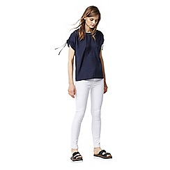 Warehouse - Ruched sleeves top