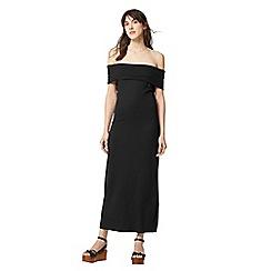 Warehouse - Deep bardot dress