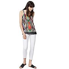 Warehouse - Rainbow ikat print camisole