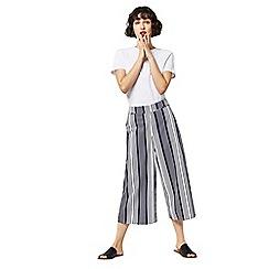 Warehouse - Stripe culottes