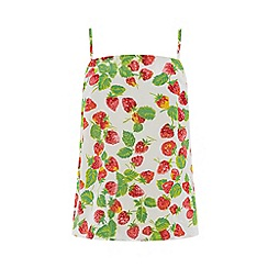 Warehouse - Strawberry print camisole