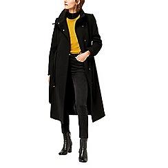 Warehouse - Longline funnel coat