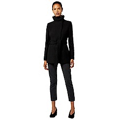 Warehouse - Short funnel coat