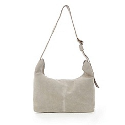 Warehouse - Suede slouchy bag