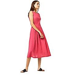 Warehouse - Tie back midi dress